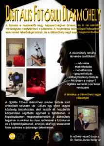 Digitális fotósuli diákműhely