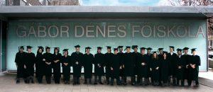 Diplomaátadó ünnepség a GDF-en